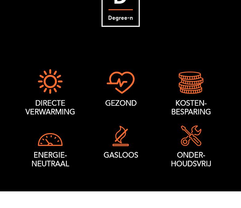 Degree-n, Infrarood, verwarmen, van het gas af, warmtenet, warmtepomp, duurzaam,